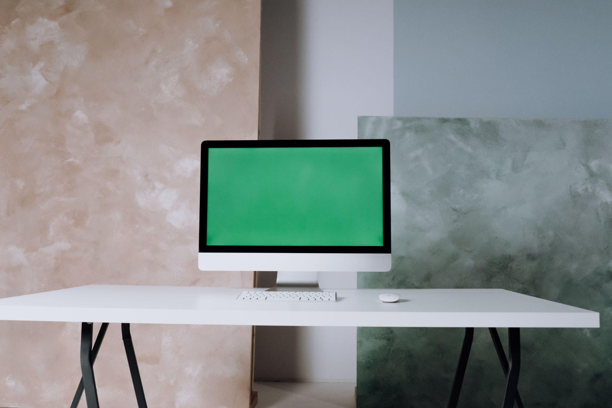 Grønn PC